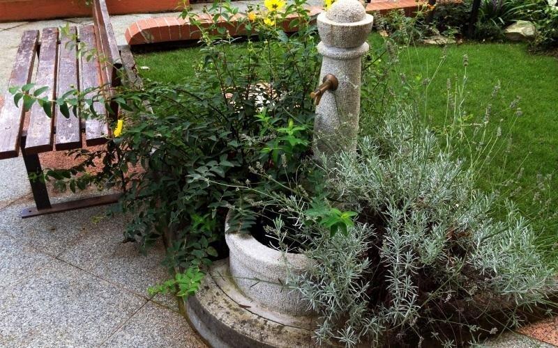 installazione fontana