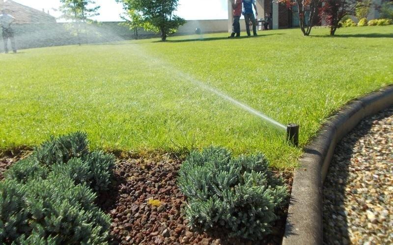 irrigazione villa