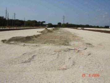 strada in costruzione