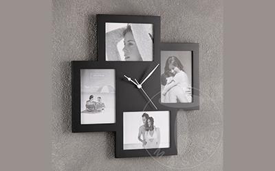 porta foto orologio