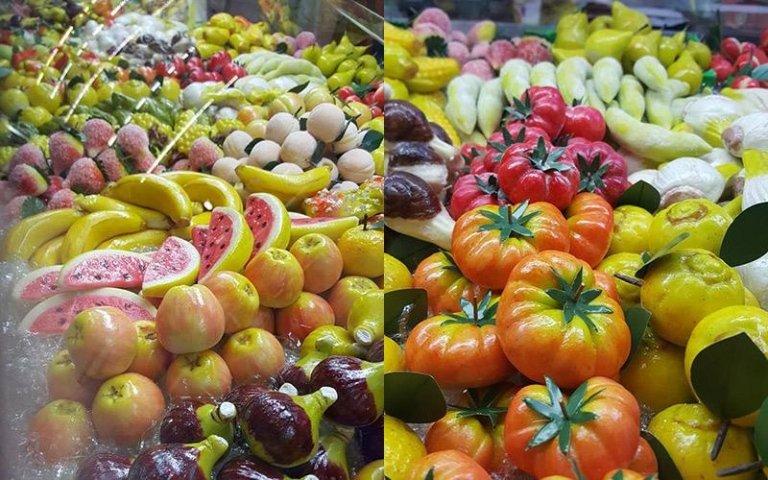 Dolci a forma di frutta