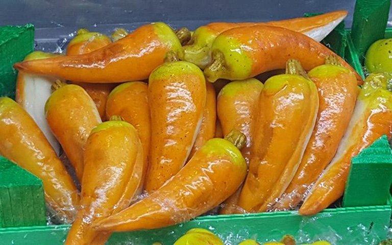 Dolci a forma di peperone