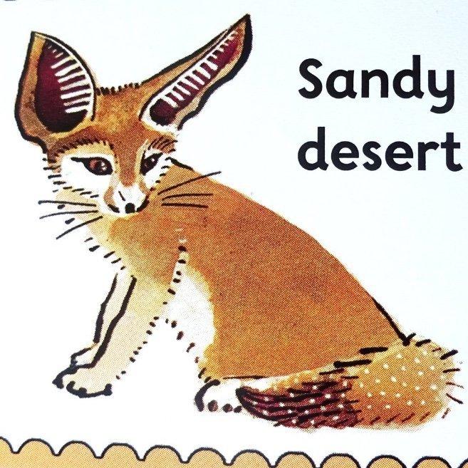 ks1, children's book, Oxford Reading Tree, staying alive, fennec fox