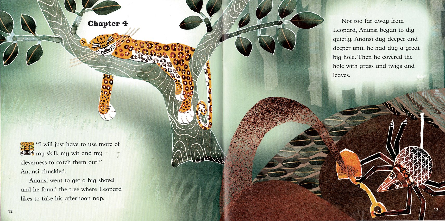 children's book, trickster, spider, leopard, ks1, Oxford Reading Tree,  traditional tale, African, Caribbean,