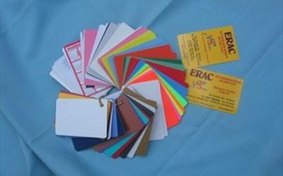 Farbdruck von Visitenkarten