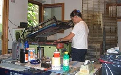 Digitale Siebdruckanlage