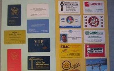 Digitaldruck kunstsstoffkaschierter Cards