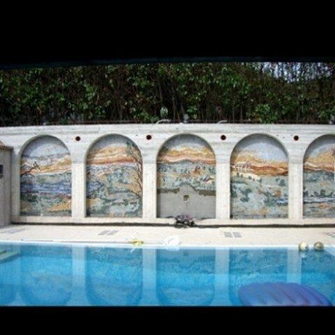 realizzazione di mosaici per architetture moderne, realizzazione di mosaici