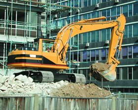 Demolition services - Farringdon, Exeter - Olds Demolition and Salvage - Demolition