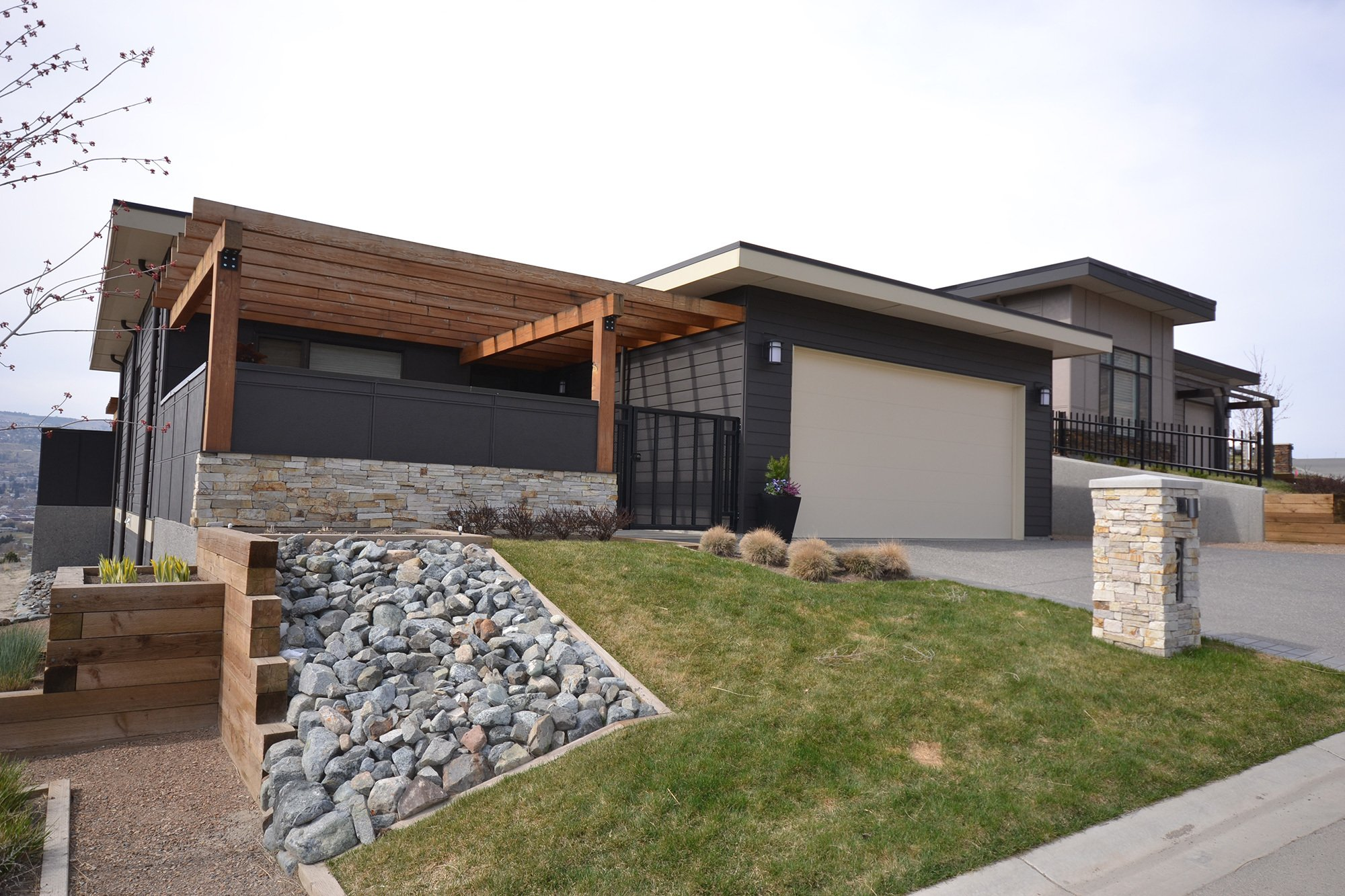 Modern house after remodel in Kamloops