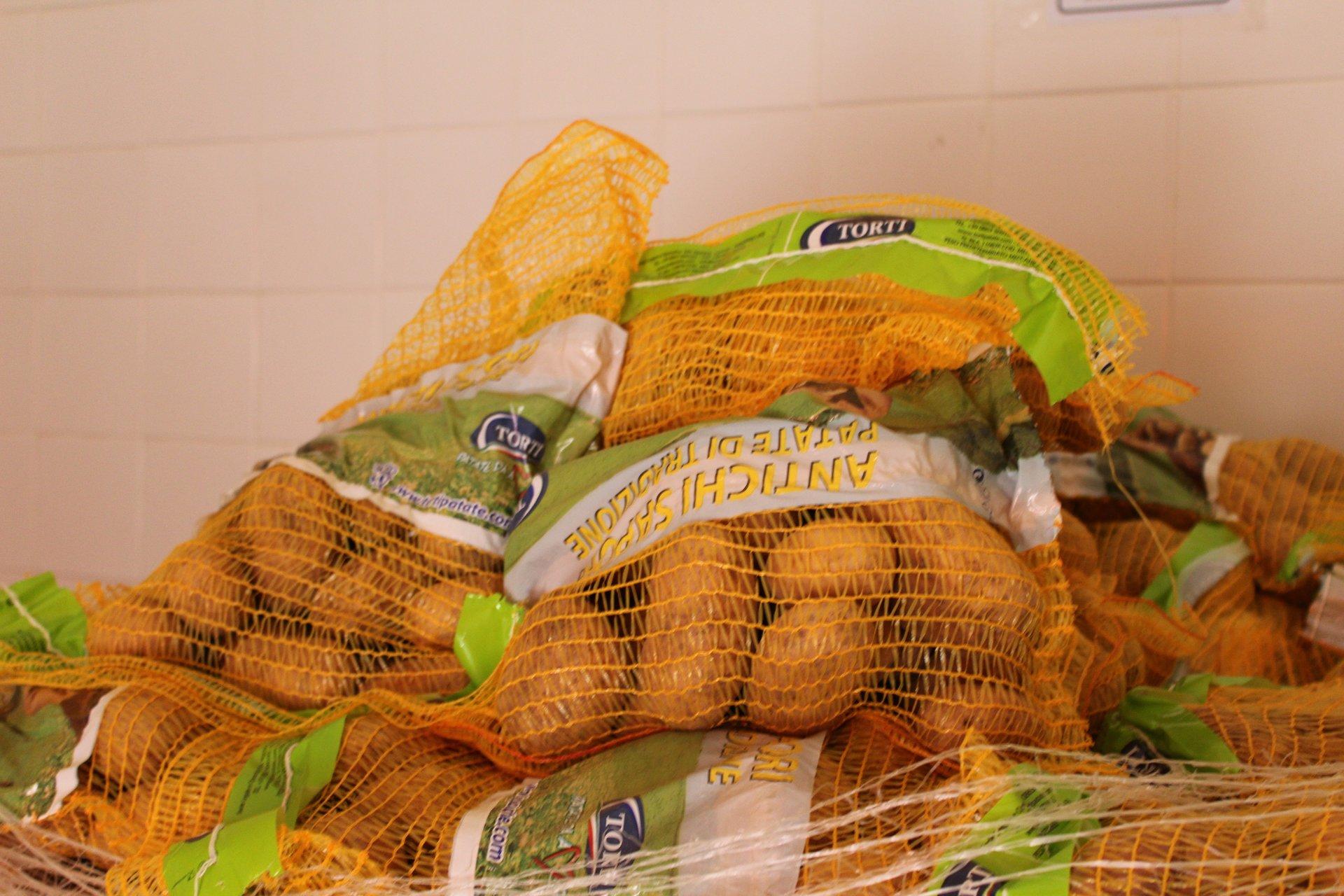 Sacchi di patate