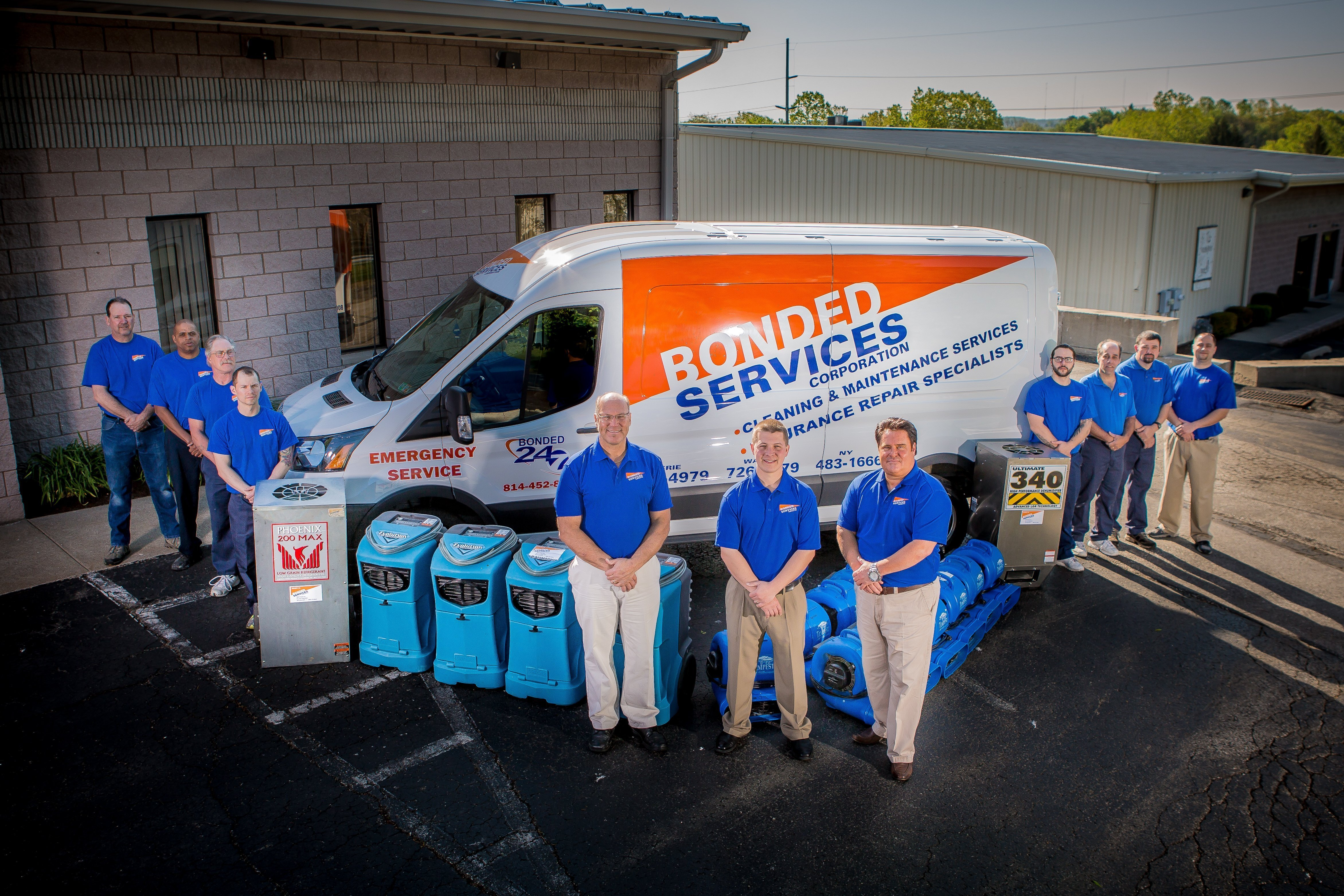 Bonded Services Home Restoration & Cleaning Team, Erie PA