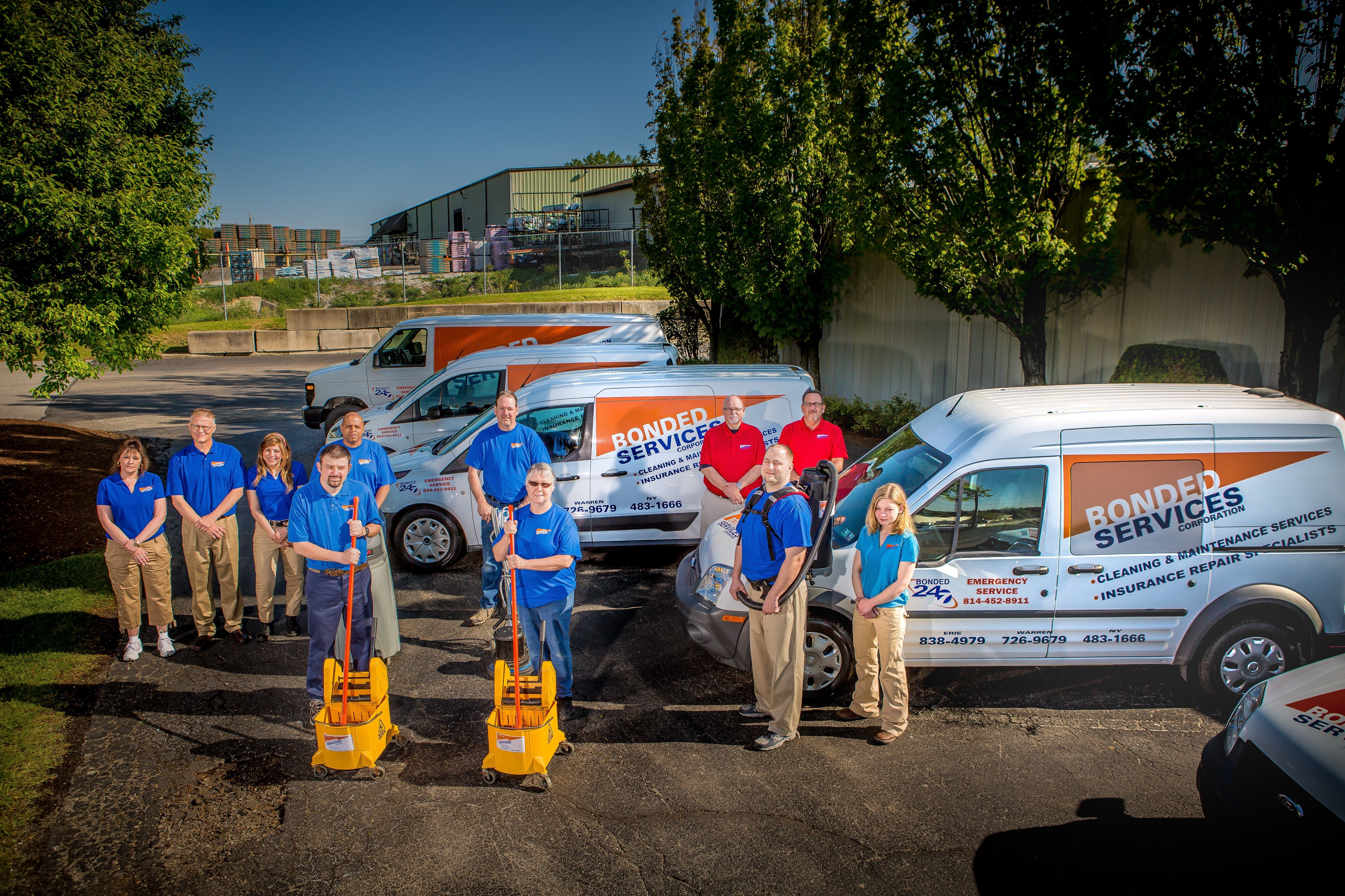 Bonded Services Erie PA Janitorial Services Team