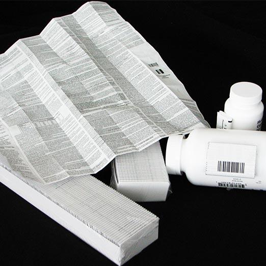 pharmaceutical leaflet printer