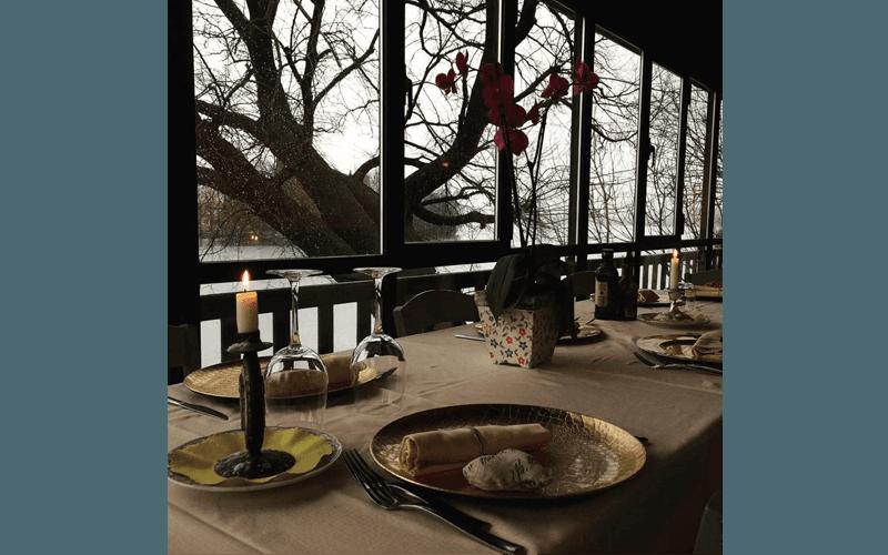 Ristorante sul lago di Pusiano