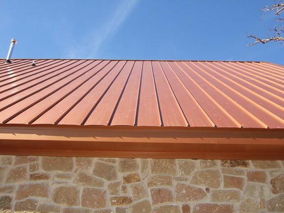 Copper Metal Roof Austin Roofing and Construction