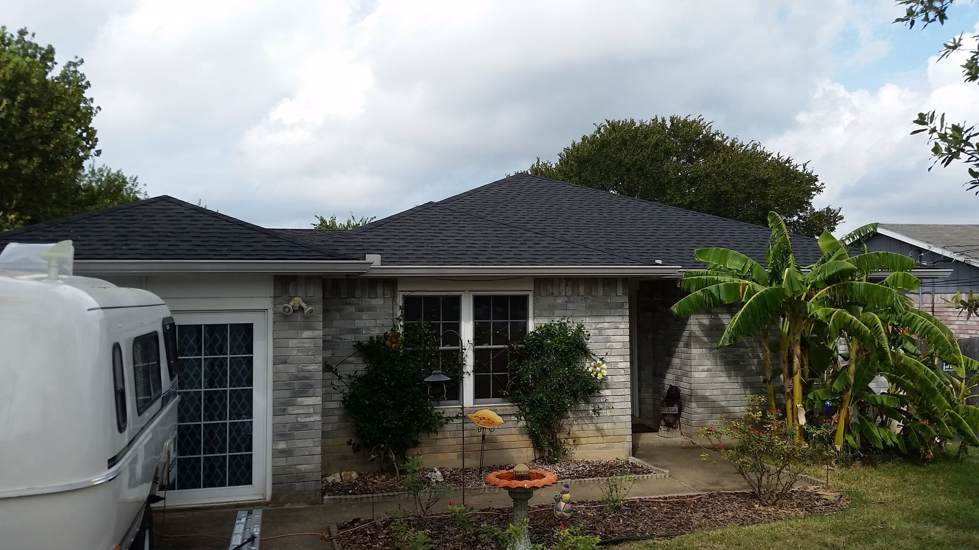 GAF Timberline HD Architectural Shingles - Color is Charcoal by Austin Roofing and Construction