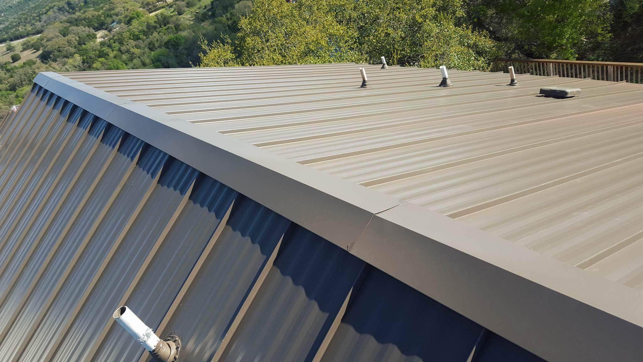 Multi-Family Metal Roof Austin Roofing and Construction