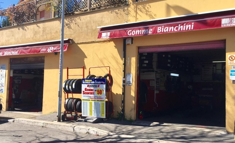bianchini gomme