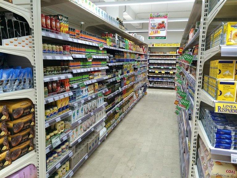 scaffalature per supermercati