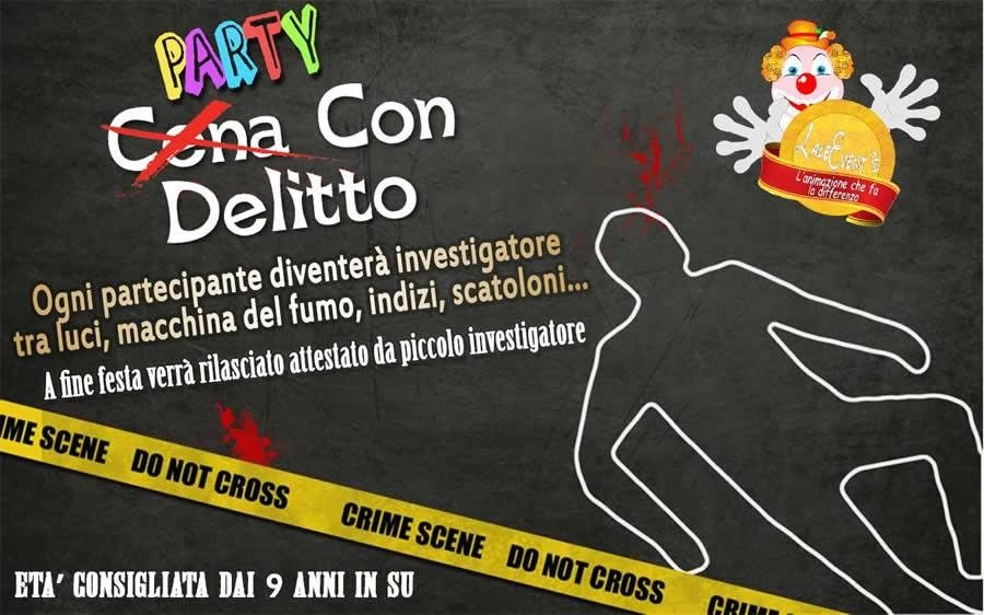 party con delitto bari