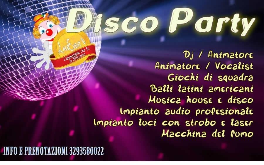 disco party bari