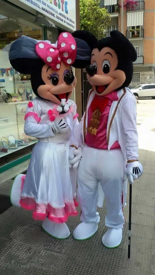 mascotte matrimonio bari