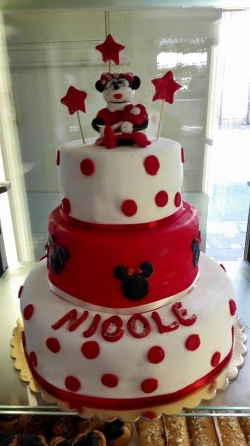 torta con topolino