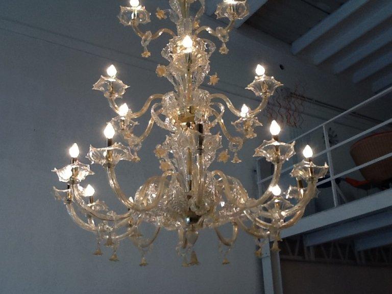 lampadario interno