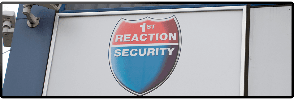 Two employees at 1st Reaction Security Limited answering the phone