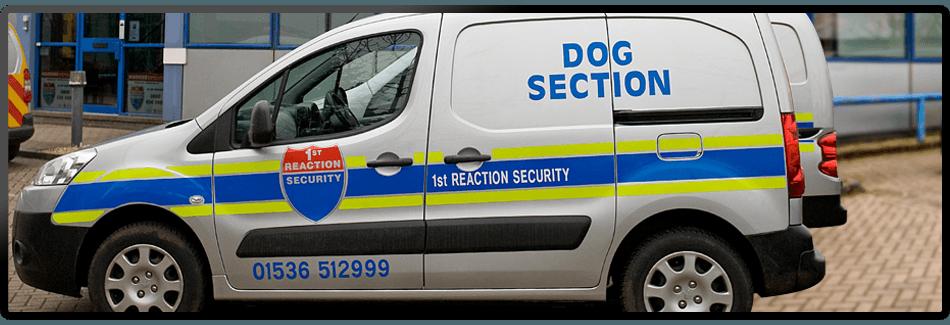 Dog section van