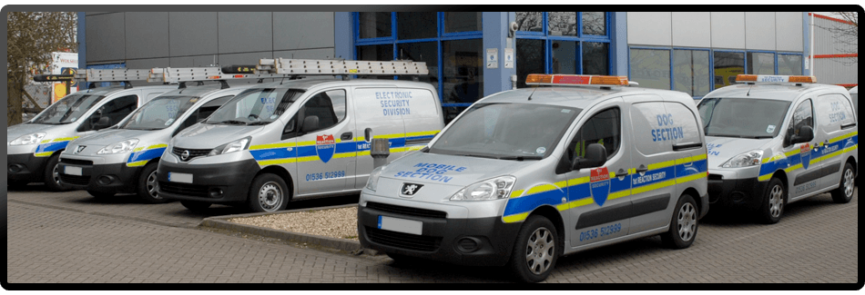 1st Reaction Security Limited vans and headquarters