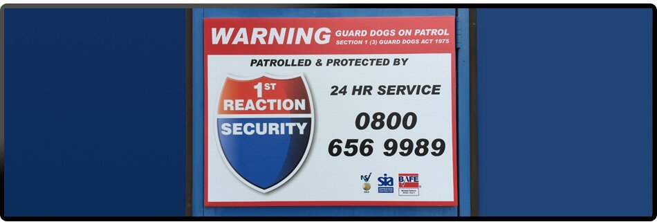 1st Reaction Security logo