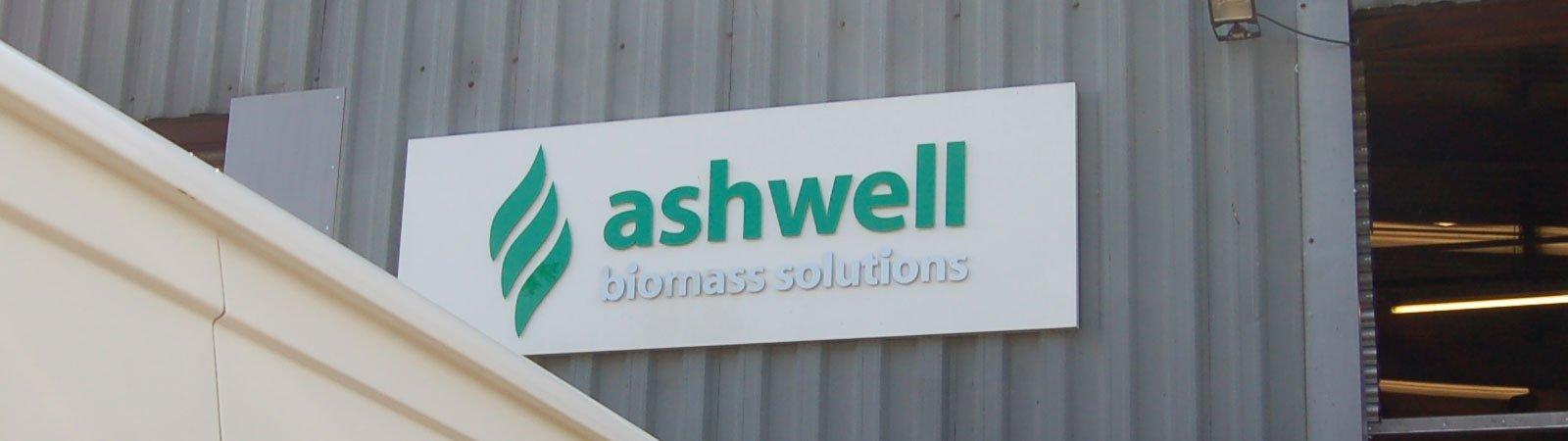 Ashwell advertisement board