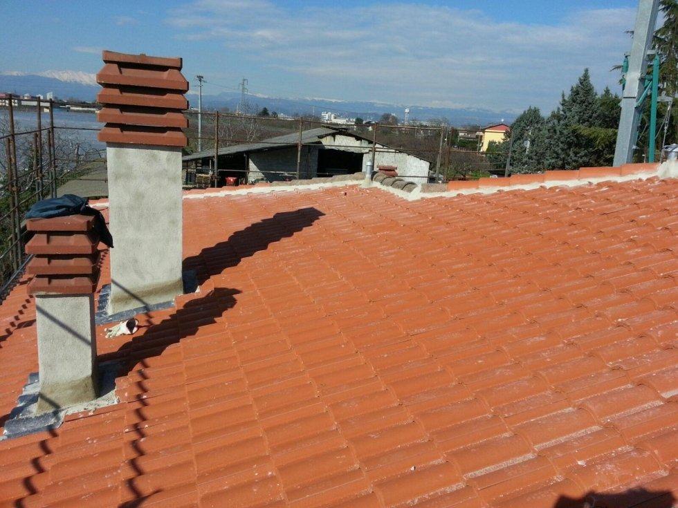 ricostruzione tetti in tegole verona