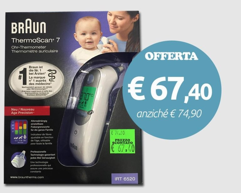 offerta braun thermoscan