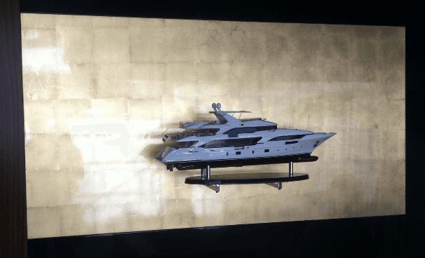 modellino grande imbarcazione