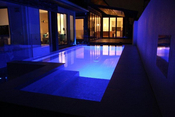 Sundollar Pools Modern Style Swimming Pool Builders at Redland Bay