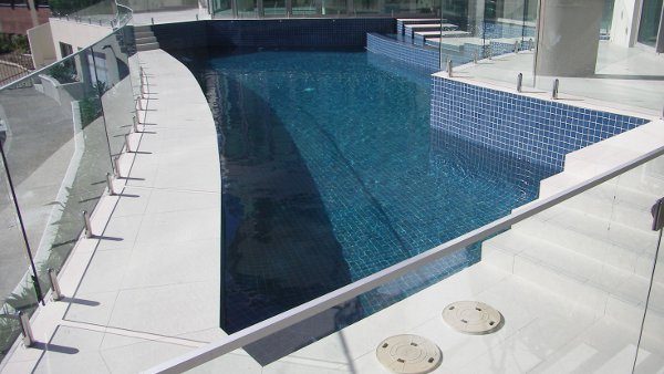 Sundollar Pools Tile and Glass Pool builder in Gold Coast