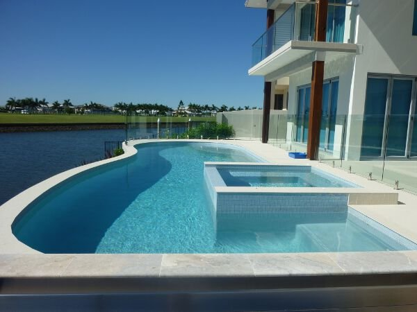 Swimming pool builders gold coast sundollar pools for Swimming pools central coast nsw