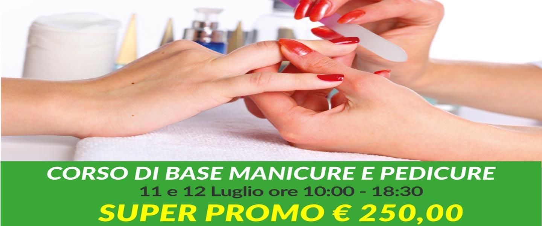 promozione corso di base manicure e pedicure