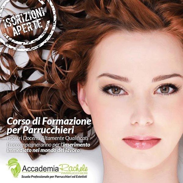 corso di formazione per parrucchieri- insegna pubblicitaria