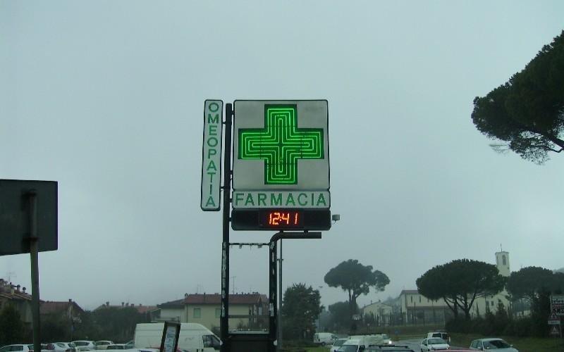 Croce Farmacia a filo di neon Neon Associate