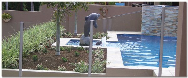 aus design fencing and balustrade and champagne glass handrails and fencing glass fencing near pool