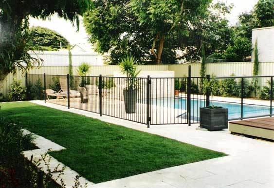 aus design fencing and balustrade and champagne pool fencing