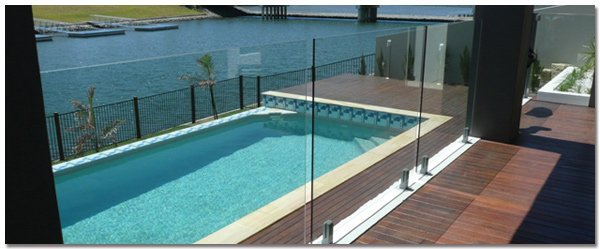 Pool & patio with pool fencing from us in Brisbane
