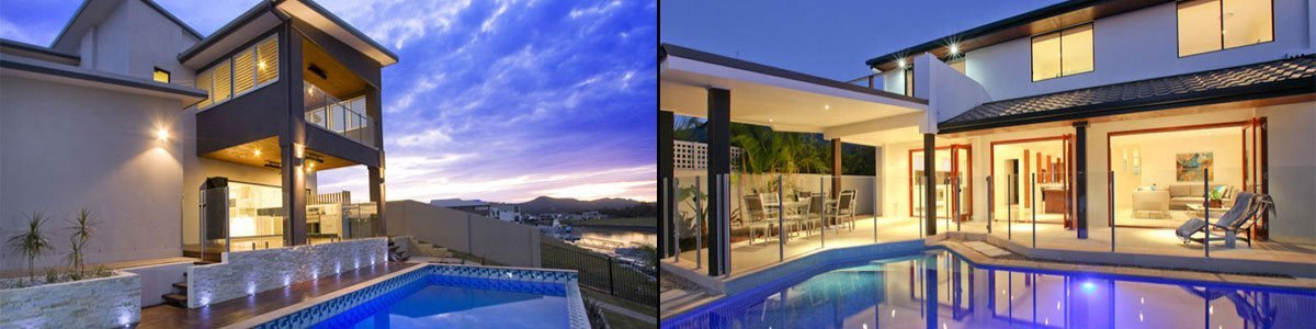 House that had our balustrades installed in Brisbane