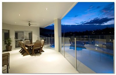 aus design fencing and balustrade and champagne glass handrails and fencing frameless glass