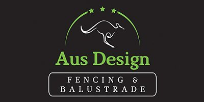 aus design fencing balustrade business logo