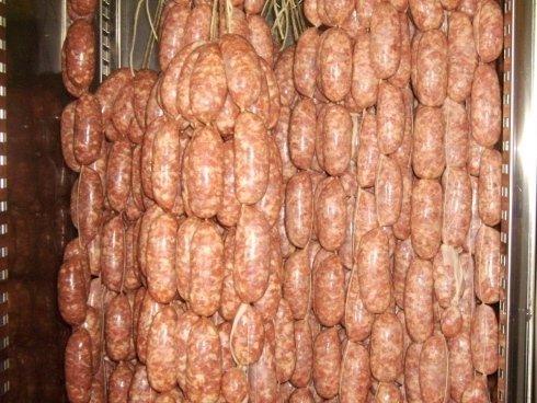 salsicce fresche di suino